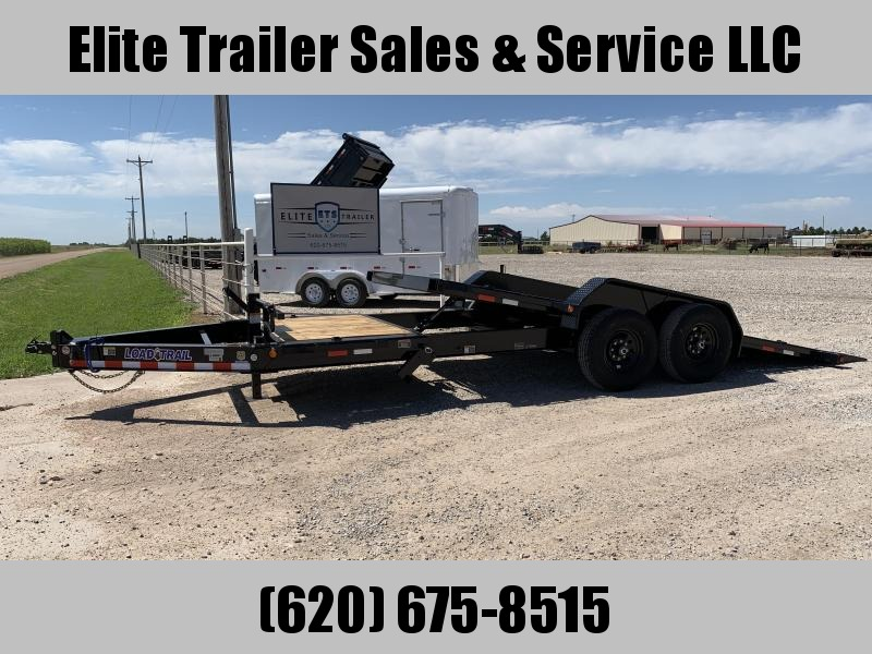 "2021 Load Trail 83"" X20' - Tilt-N-Go Tilt Deck 14000 Lb. w/8"" I-Beam Frame Equipment Trailer"