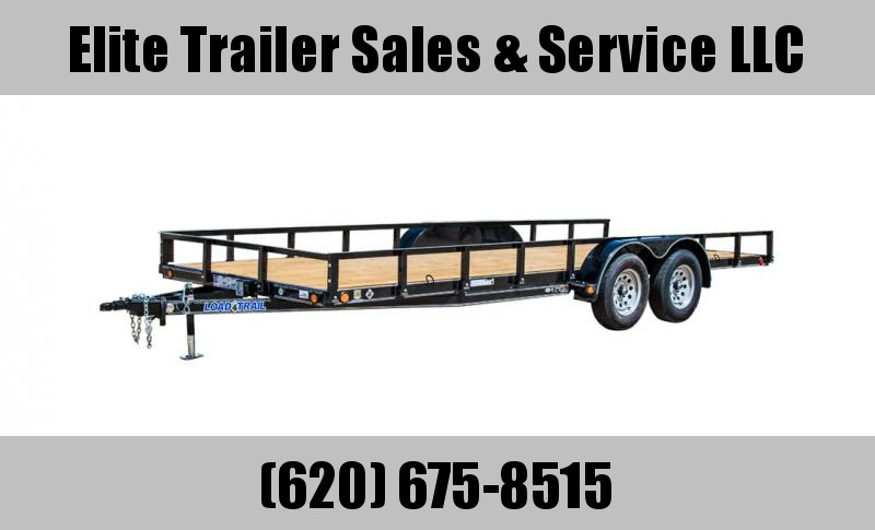 "2021 Load Trail  83"" x 16' Tandem Axle Utility Trailer (2"" x 3"" Angle Frame)"