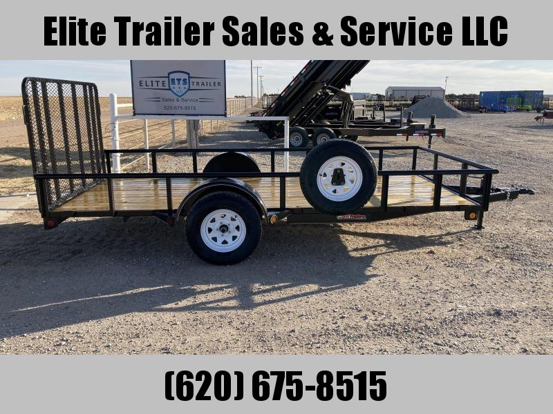 "2021 GR Trailers 77"" x 14' Single Axle Utility Trailer (UT6514W03L) Utility Trailer"