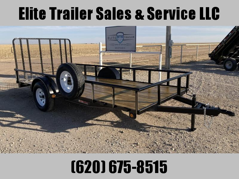 "2021 GR Trailers 77"" x 14' Single Axle Utility Trailer (UT6514W03L) Utility Trailer"