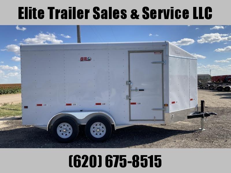 2022 GR Trailers 7' x 14' x 7' Tandem Axle Cargo Trailer (CT7014W07L) Enclosed Cargo Trailer