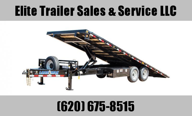 2022 Load Trail PE14 - Pintle Hook Equipment Tilt Deck 102 x 24 Equipment Trailer