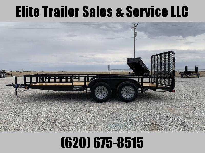 2020 Load Trail UE07 - Tandem Axle Utility 83 x 16 Utility Trailer