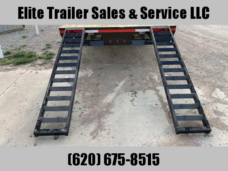 "2021 Load Trail 102"" X 24' DECK OVER PINTLE HOOK"