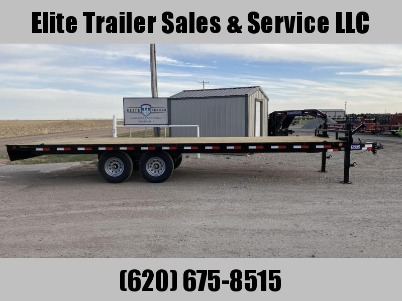 """2021 Load Trail 102"""" X 24' DECK OVER PINTLE HOOK"""