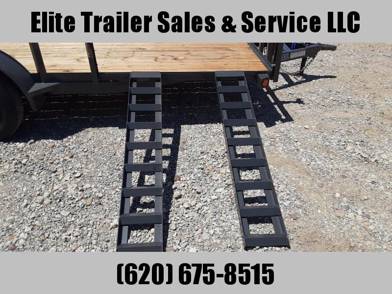 2021 Load Trail UE07 - Tandem Axle Utility 83 x 16 Utility Trailer