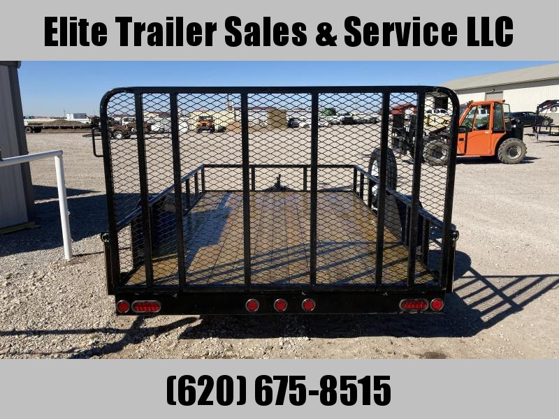 2021 GR Trailers 7' x 12' Single Axle Utility Trailer (UT7012W03L) Utility Trailer