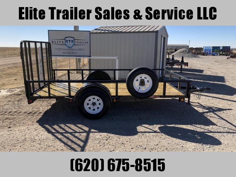 2021 GR Trailers 7' x 12' Single Axle Utility Trailer (UT7012W03L) Utility Trailer