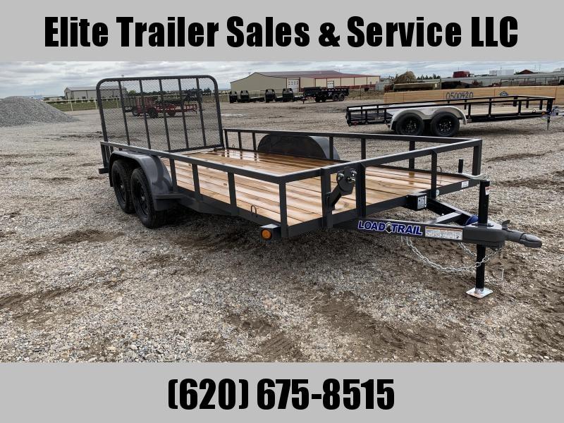 "2020 Load Trail  83"" x 16' Tandem Axle Utility Trailer"