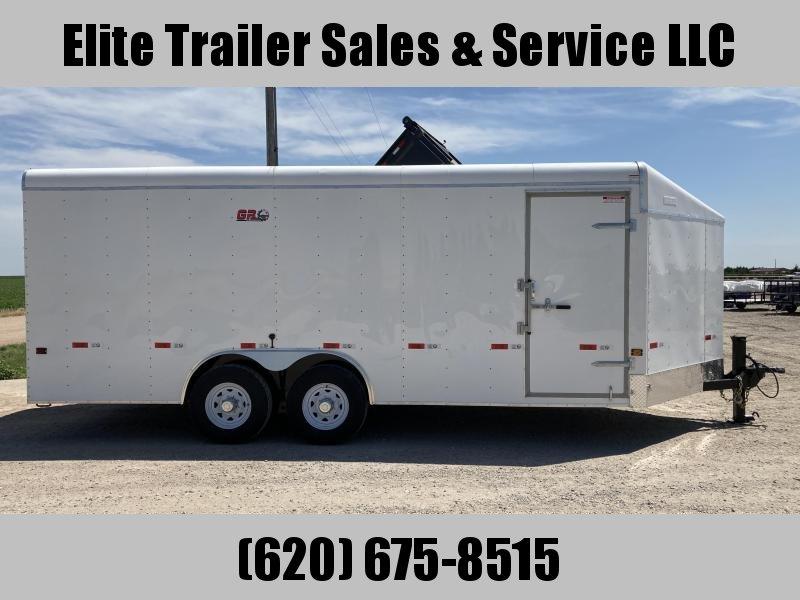 2021 GR Trailers 8' x 20' x 7' Tandem Axle Cargo Trailer (CT8020W14L) Enclosed Cargo Trailer