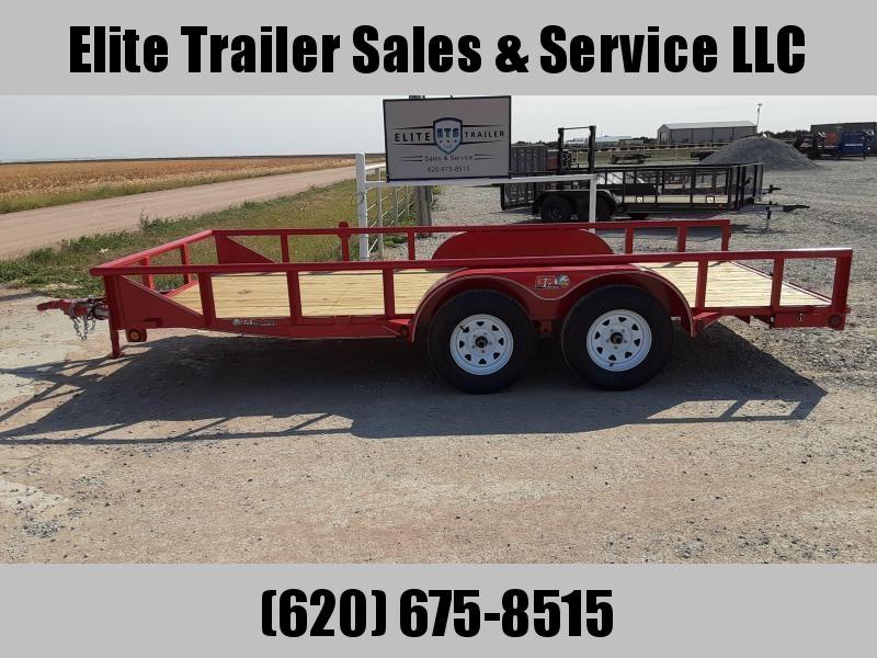 2021 GR Trailers 7' x 16' Tandem Axle Utility Trailer (UT7016WR07L) Utility Trailer
