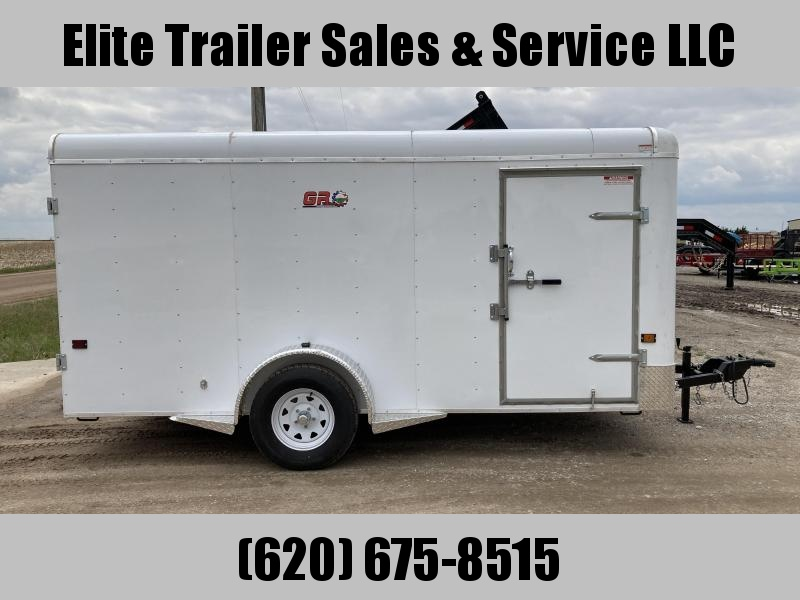 2021 GR Trailers 6.5' x 14'x 6' Single Axle Cargo Trailer (CT6514W03L) Enclosed Cargo Trailer
