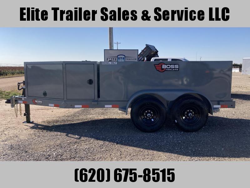 2021 Boss 990 Gallon Fuel Trailer W/DEF