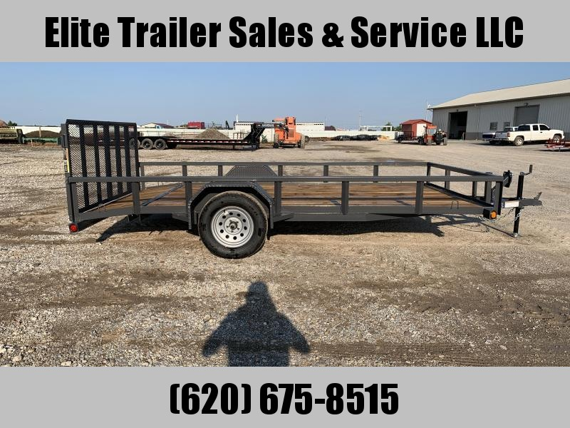 2021 Load Trail SE03 - Single Axle Landscape 83 x 14 Utility Trailer