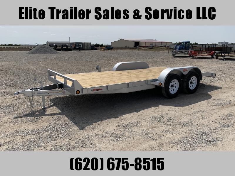 2021 GR Trailers 7' x 18' Tandem Axle Car Hauler (CH7018WR07L5) Car / Racing Trailer