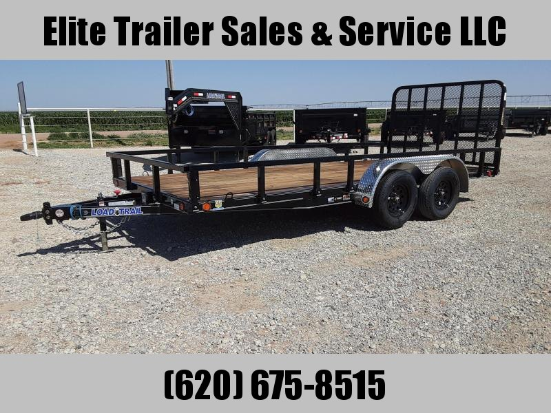 "2020 Load Trail UE07 - 83"" x 16' Tandem Axle Utility Trailer"