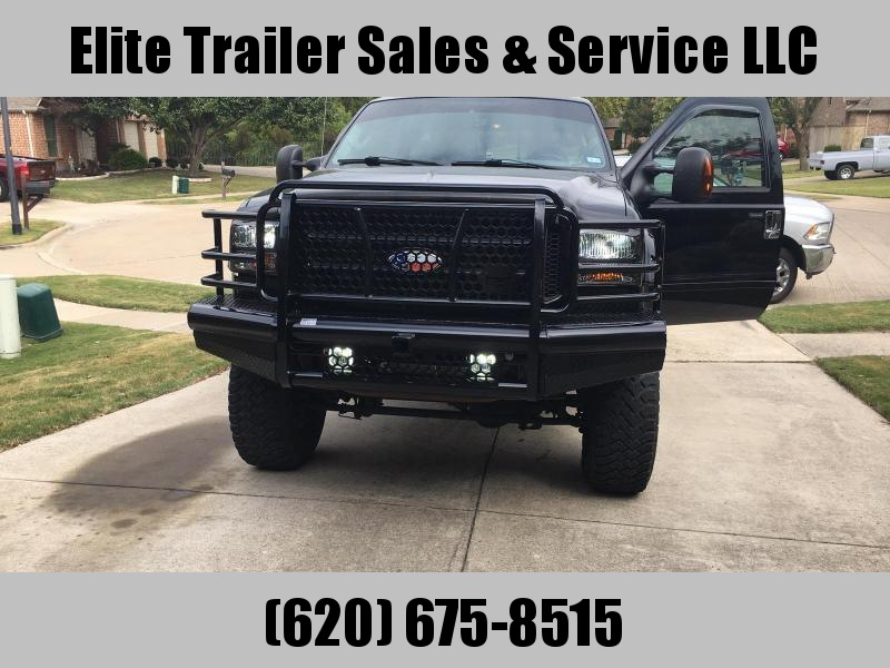 2005 To 2007 F-250 and F-350 Bumper