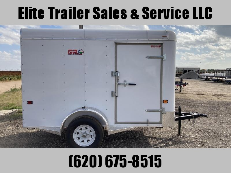 2022 GR Trailers 5' x 10'x 6' Single Axle Cargo Trailer (CT5010W03L) Enclosed Cargo Trailer