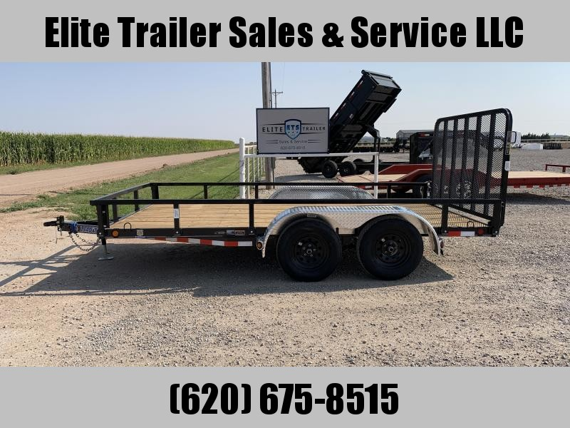 "2021 Load Trail UT07 83"" X 14' Tandem Axle Utility Trailer"