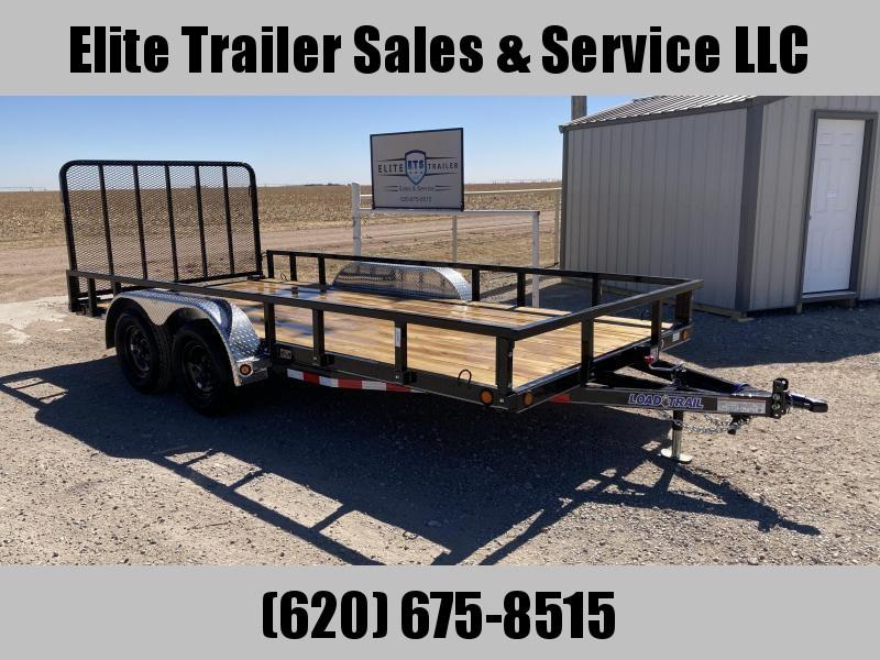2021 Load Trail UT07 83 x 16 Tandem Axle Utility Trailer