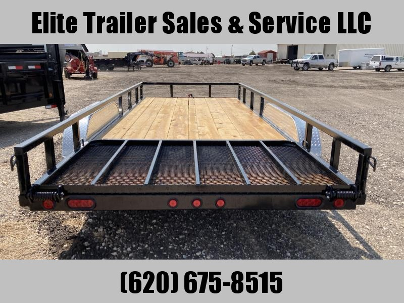 """2021 Load Trail 83"""" X 18' TANDEM AXLE UTILITY (4"""" CHANNEL FRAME)"""