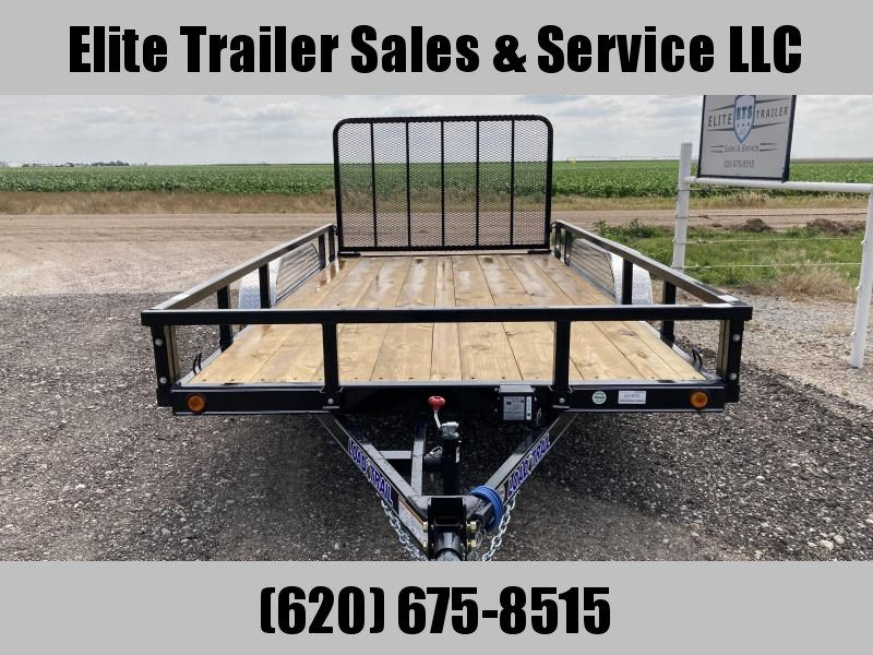 """2021 Load Trail 83"""" X 14' TANDEM AXLE UTILITY (4"""" CHANNEL FRAME)"""
