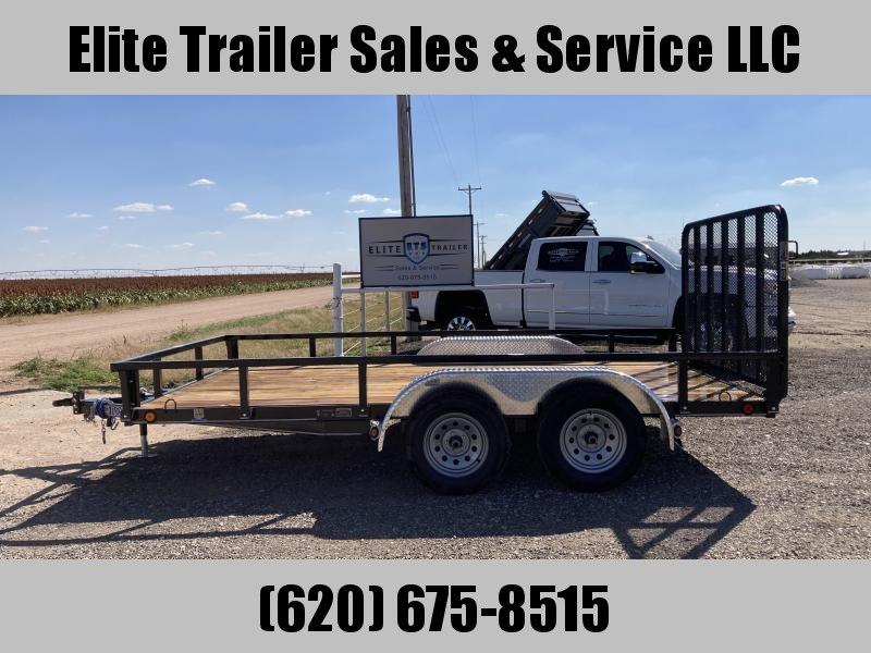 2022 Load Trail UE07 - Tandem Axle Utility 83 x 14 Utility Trailer