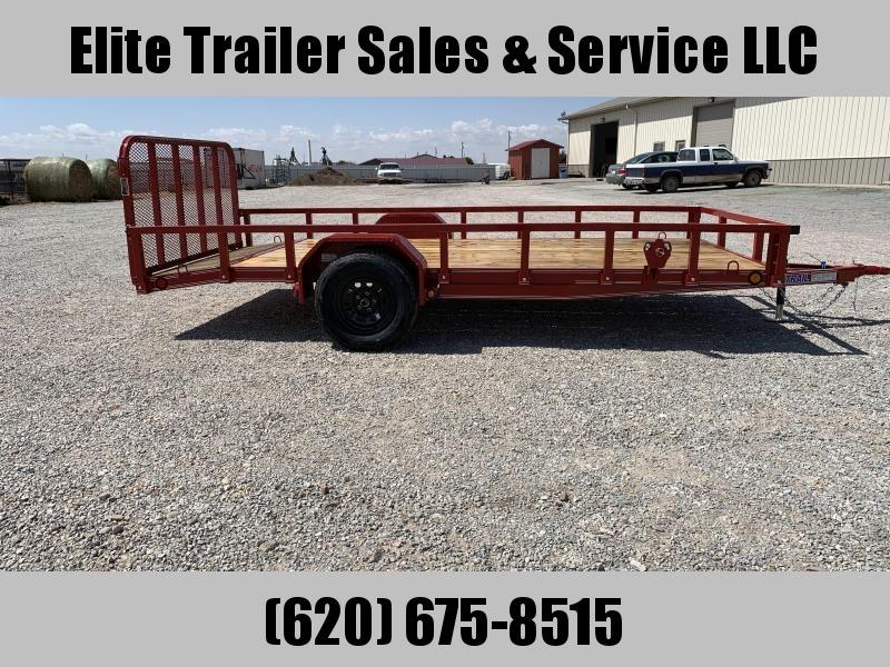 """2020 Load Trail SB03 - 14' x 77"""" Utility Trailer"""