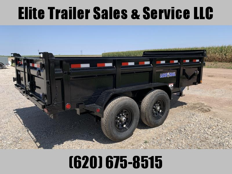 "2021 Load Trail DT14 83"" x 14' Dump Trailer"