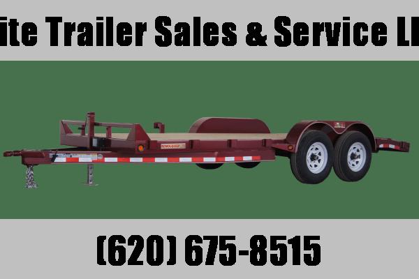 "2021 GR Trailers 82"" x 18' Tandem Axle Car Hauler (CH7018WR10L5) Car / Racing Trailer"