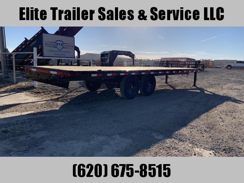 2021 Load Trail DK14 Pintle Hook Deck Over 102 x 24 Equipment Trailer