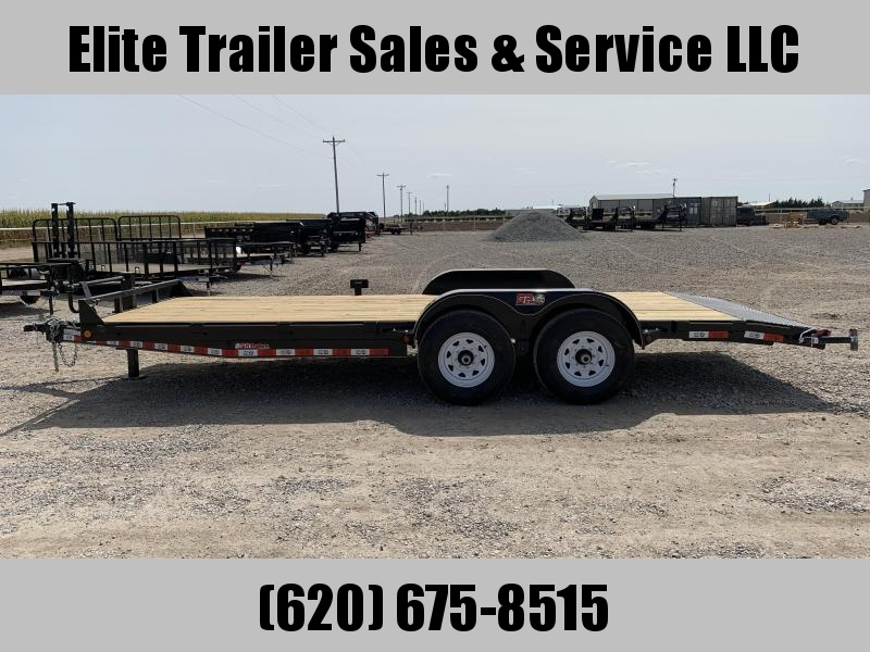 2021 GR Trailers 7' x 20' Tandem Axle Car Hauler (CH7020WR14L) Car / Racing Trailer