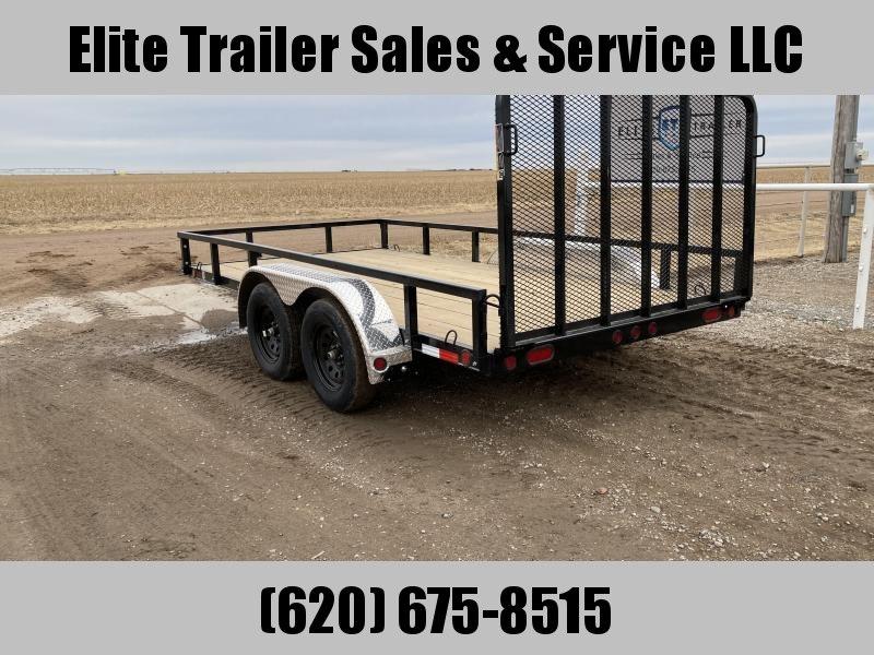 2021 Load Trail UT07 83 x 14 Tandem Axle Utility Trailer