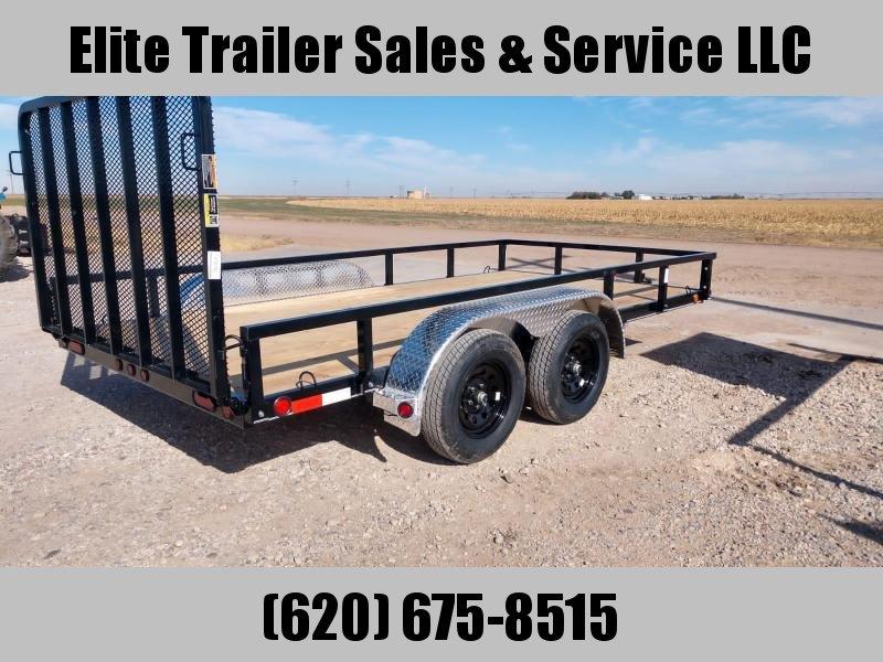 2021 Load Trail UT07 - Tandem Axle Utility 83 x 14 Utility Trailer