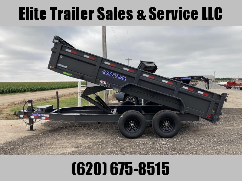 2021 Load Trail DT14 83 x 16 Low Pro Dump Trailer
