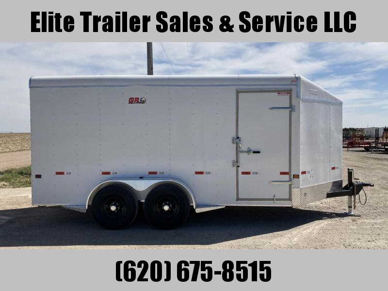2021 GR Trailers 7' x 16' x 7' Tandem Axle Cargo Trailer (CT7016W10L) Enclosed Cargo Trailer