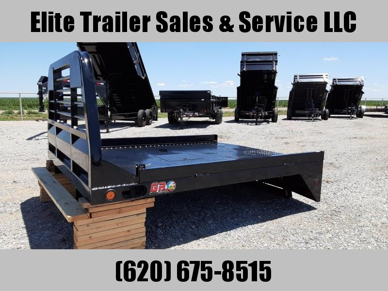 2020 GR Trailers Non-Skirted Long Truck Bed