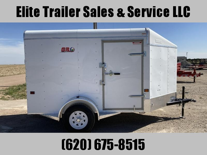 2021 GR Trailers 6' x 10'x 6' Single Axle Cargo Trailer (CT6010W03L) Enclosed Cargo Trailer