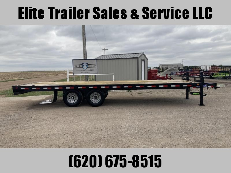 2021 Load Trail DK14 - Pintle Hook Deck Over 102 x 24 Equipment Trailer