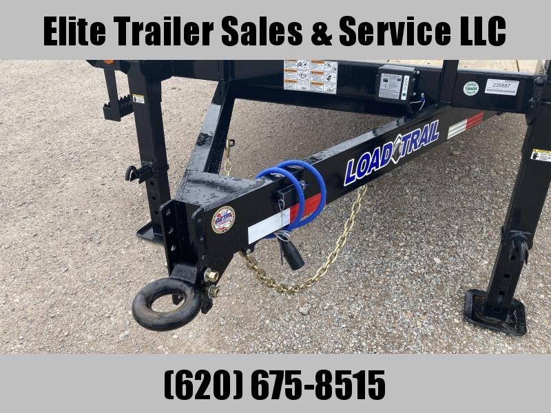 2021 Load Trail DK14 - Pintle Hook Deck Over 102 x 24 Equipment Trailer