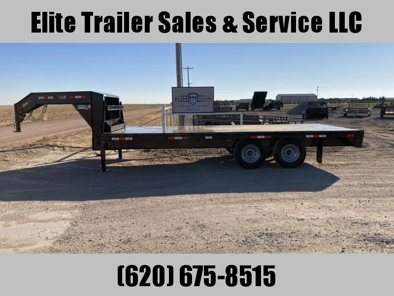 2021 GR Trailers 8' x 20' Tandem Axle Deckover Flatbed Trailer