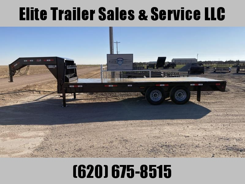 2021 GR Trailers 8' x 20' Tandem Axle Deckover Flatbed Trailer