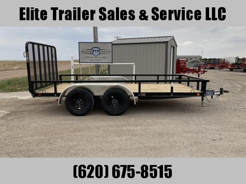 "83"" X 14' TANDEM AXLE UTILITY (4"" CHANNEL FRAME)"
