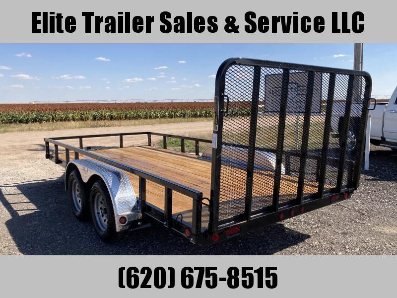2022 Load Trail UT07 - Tandem Axle Utility 83 x 16 Utility Trailer
