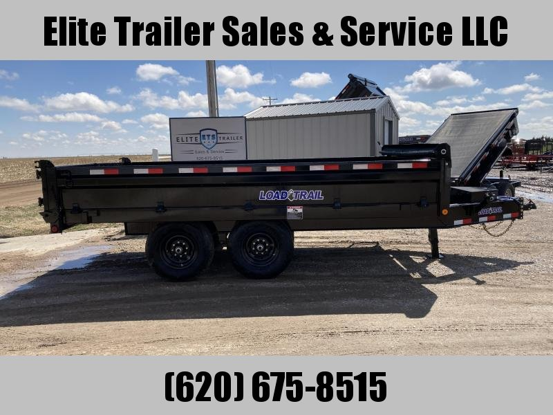 "2021 Load Trail 96"" X 14' TANDEM AXLE DECK OVER DUMP"