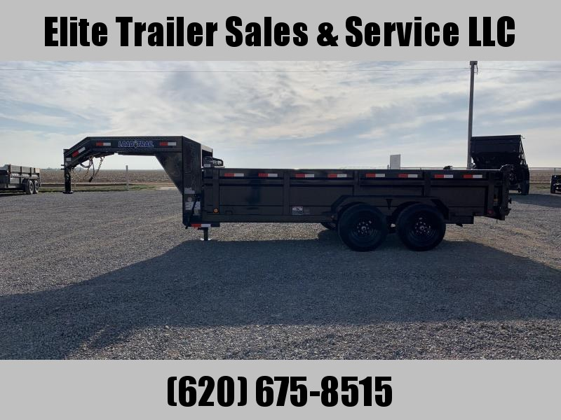 "2020 Load Trail  16' x 83"" Low Pro GN Dump Trailer"