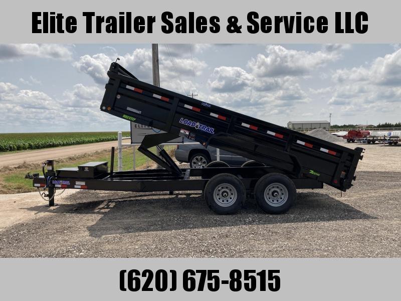 "2022 Load Trail DH14 - 83 X 16 8"" Frame Low-Pro Dump Trailer Dump Trailer"