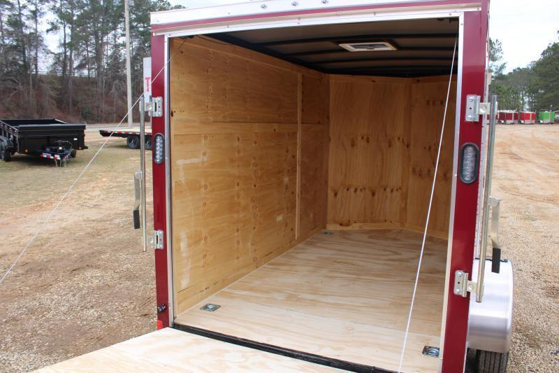 Rock Solid 6'X10'SA Brandywine Enclosed Trailer