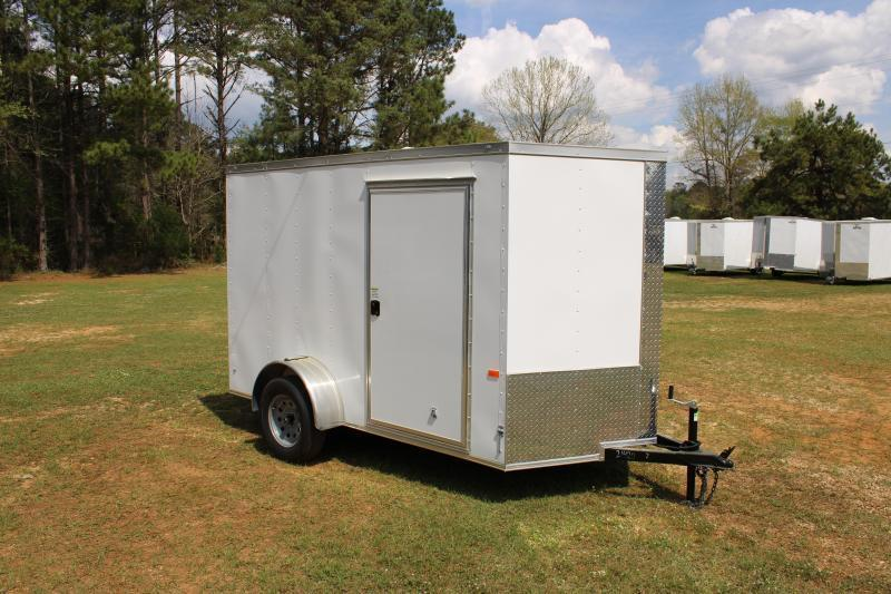 Rock Solid 6'X12' Single Axle Cargo Trailer