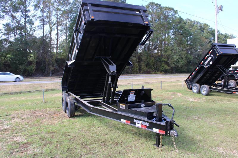 "Load Trail 83""X14' 16K Dump Trailer"